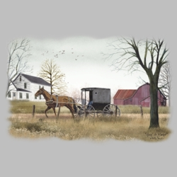 Horse Buggy T Shirts Wholesale Bulk Graphic Printed Suppliers - 19365HL2