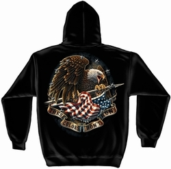 Wholesale Hoodies - Military, Patriotic, These Colors Don't Run Hooded Sweatshirt