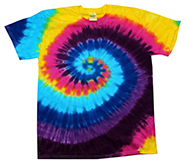Wholesale Products - Colortone Youth & Adult Tie Dye T-Shirt - Carnival T-shirts Designs - MSC Distributors