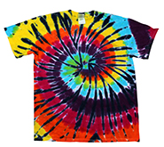 Wholesale Products - Colortone Youth & Adult Tie Dye T-Shirt - Lava Lamp - MSC Distributors