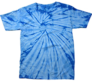 Wholesale Clothing, Tie Dye Shirts, Wholesale Bulk Clothing Cheap Suppliers - tie dye spider baby blue