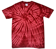Gildan Wholesale Bulk Clothing Cheap Suppliers - tie_dye_spider_crimson