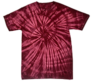 Wholesale Apparel Blank Bulk Cheap Discount Gildan Wholesale Resale Products Cheap - tie_dye_spider_plum