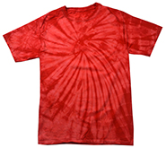 Tie Dye T Shirts Wholesale Suppliers - spider red