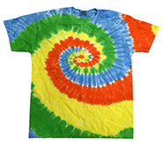 Wholesale Apparel Blank Bulk Cheap Discount Gildan Wholesale Resale Products Cheap - tie_dye_spring_time
