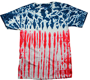 Wholesale Products - Colortone Youth & Adult Tie Dye T-Shirt - American Flag - MSC Distributors