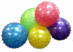 Wholesale T Shirts, Wholesale Hats, 8 Inch Knobby Balls, Cheap Online Sale At Wholesale Prices - (ASSORTED COLORS)- MSC Distributors