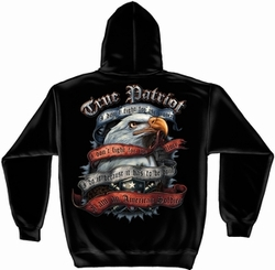 Wholesale Hoodies - Military, Patriotic, True Patriot Sweatshirt