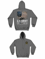 Wholesale Hoodies - Military, Patriotic, U.S. Army These Colors Don't Run Hooded Sweatshirt