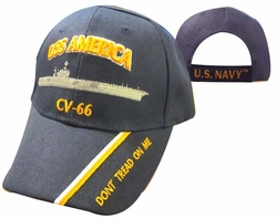Wholesale Military Patriotic Hats and Caps Suppliers - USS AMERICA Hat