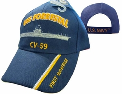 Cheap Wholesale Military Hats and Caps - Apparel Suppliers In Bulk - USS FORRESTAL
