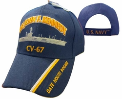 Cheap Wholesale Military Hats and Caps - Apparel Suppliers In Bulk - USS J.F. KENNEDY