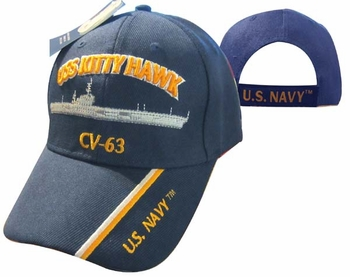 Cheap Wholesale Military Hats and Caps - Apparel Suppliers In Bulk - USS KITTY HAWK