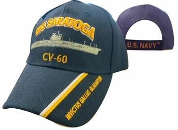 Cheap Wholesale Military Hats and Caps - Apparel Suppliers In Bulk - USS SARATOGA
