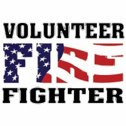 Wholesale T Shirts, Bulk T Shirts - Volunteer Firefighter A4142E