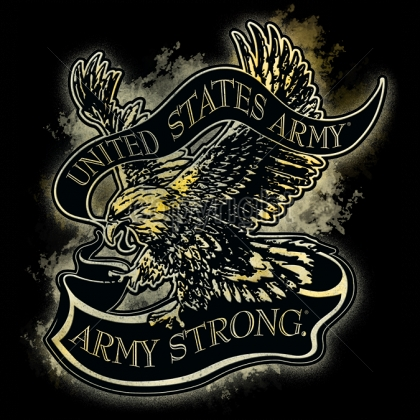 U s army wholesale t shirts military suppliers 12x13 for Custom military unit t shirts