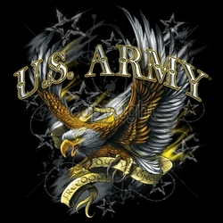 Wholesale Bulk Military T Shirts - US-army-freedom-duty-honor-eagle