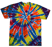 Wholesale Apparel Blank Bulk Cheap Discount Gildan Wholesale - Bulk Tie Dye T Shirts Clothing Short Sleeve - KALEIDOSCOPE