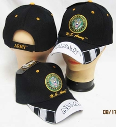 Wholesale Headwear, Army Hats, Wholesale Hats, Men's Hats, Military Hats - CAP601E Army Seal Army Bill Cap