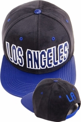 Wholesale Clothing, Products Resale Online - Blank hats, Beanies, Trucker Hats, Snapback Hats and more, Wholesale Prices - FS-380 LA Suede PU Snapback