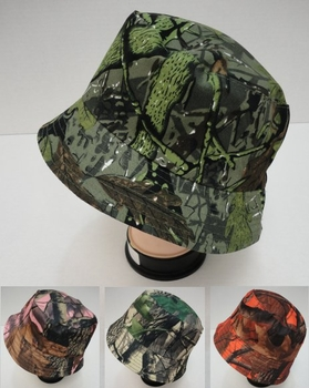 Men's Women's Adult Bulk Hats Wholesale - Fashion Hats For Men and Women Boutique - HT863. Bucket Hat [Assorted Camo]