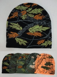 Realtree Hardwoods HD� Camo - Wholesale Bulk Supplier - WN683. Knitted Beanie [Assorted Hardwoods Camo]