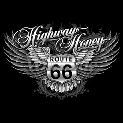 Wholesale T-Shirts, Bulk T-Shirts, Route 66, Online at Cheap Price, Discount Route 66 T Shirts - 18740