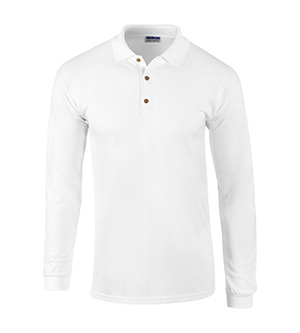 Wholesale Clothing Apparel - Blank Bulk Gildan Apparel, Clothing -Gildan G3400 - ADULT PIQUE ULTRA COTTON LS SHIRT 10.00
