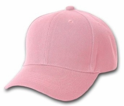 Wholesale Resale Products - Blank  Hats Caps Suppliers - HT153. Solid Pink Ball Cap