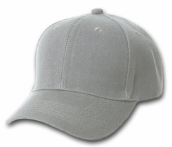 Wholesale Resale Products - Blank  Hats Caps Suppliers - HT193. Solid Gray Ball Cap