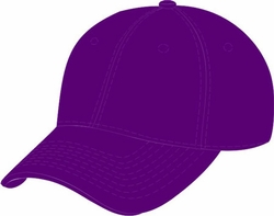 Wholesale Resale Products - Blank  Hats Caps Suppliers - HT907. Solid Purple Ball Cap