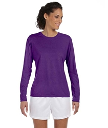 T Shirts Wholesale Bulk Supplier - Blank - 42400L Gildan Performance™ Ladies' Long-Sleeve T-Shirt 7.54