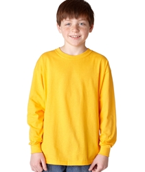 T Shirts Wholesale Bulk Supplier - Blank - 5400B Gildan Heavy Cotton Youth Long-Sleeve T-Shirt 4.68