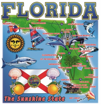 Wholesale - Bulk Florida Resort T Shirts Suppliers - 13094