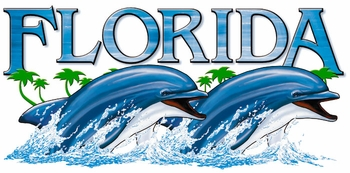 T Shirts Wholesale Distributor - Florida Dolphins Resort Vacation T Shirts Clothing - 13283