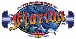 T Shirts Wholesale Distributor - Florida Sunshine State Resort Vacation T Shirts Clothing - 13291