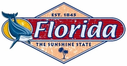 T Shirts Wholesale Distributor - Florida Sunshine State Resort Vacation T Shirts Clothing - 13295