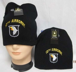 Wholesale Military Clothing Apparel Baseball Hats Caps Bulk - WIN626 101 Airborne Beanie