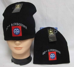 Wholesale Bulk Mens Hats and Caps - WIN627 82nd Airborne Beanie