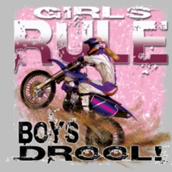 Men's Women's Adult Wholesale Clothing Apparel -  Bulk, Girl's Rule Wholesale Bulk Shirts Dirt Bike Miscellaneous T Shirts For Sale - 6728_o_rp-400x400