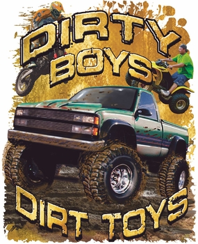 Men's Women's Adult Wholesale - Bulk T Shirts, Country, Graphic, Funny - 17612 truck muddin