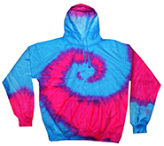 Tie-Dye T-Shirts, Hoodies & Other Clothing - Cheap Bulk Prices - Tie Dye Hoodies, Tie Dye Sweatshirts, Wholesale Hoodies, FLO BLUE  PINK