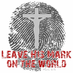 Wholesale Clothing - Christian Bulk Bible, Jesus, God, Teen, Suppliers T Shirts, Clothing, Apparel - 18203-Leave-his-mark-on-the-word