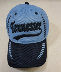 Wholesale Clothing, Wholesale Men's Hats - HT589. Air Mesh TENNESSEE Hat
