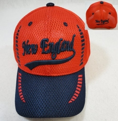 Wholesale Clothing, Wholesale Men's Hats - HT590. Air Mesh NEW ENGLAND Hat