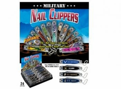 Wholesale Convenience Store Items Bulk Best Selling Online - MILITARY NAIL CLIPPER