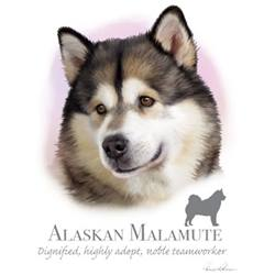 Wholesale Dog T Shirts - Buy Cheap Dog T Shirts from Best Dog T Shirts Wholesalers - ALASKAN MALAMUTE T Shirts, Clothing - MSC Distributors