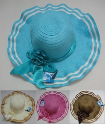 Wholesale Hats and Caps in Bulk - Fashion Hats HT836. Ladies Summer Hat