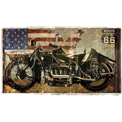 Route 66 Motorcycle Wholesale Fashion Clothing Apparel Products - Graphic Tees Wholesale in Bulk Suppliers - 21840HD4