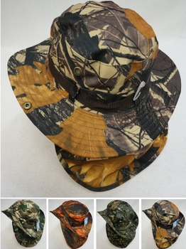 Realtree Hardwoods HD® Camo - Wholesale Bulk Supplier - HT899. Boonie Hat with Cloth Flap [Hardwood Camo]